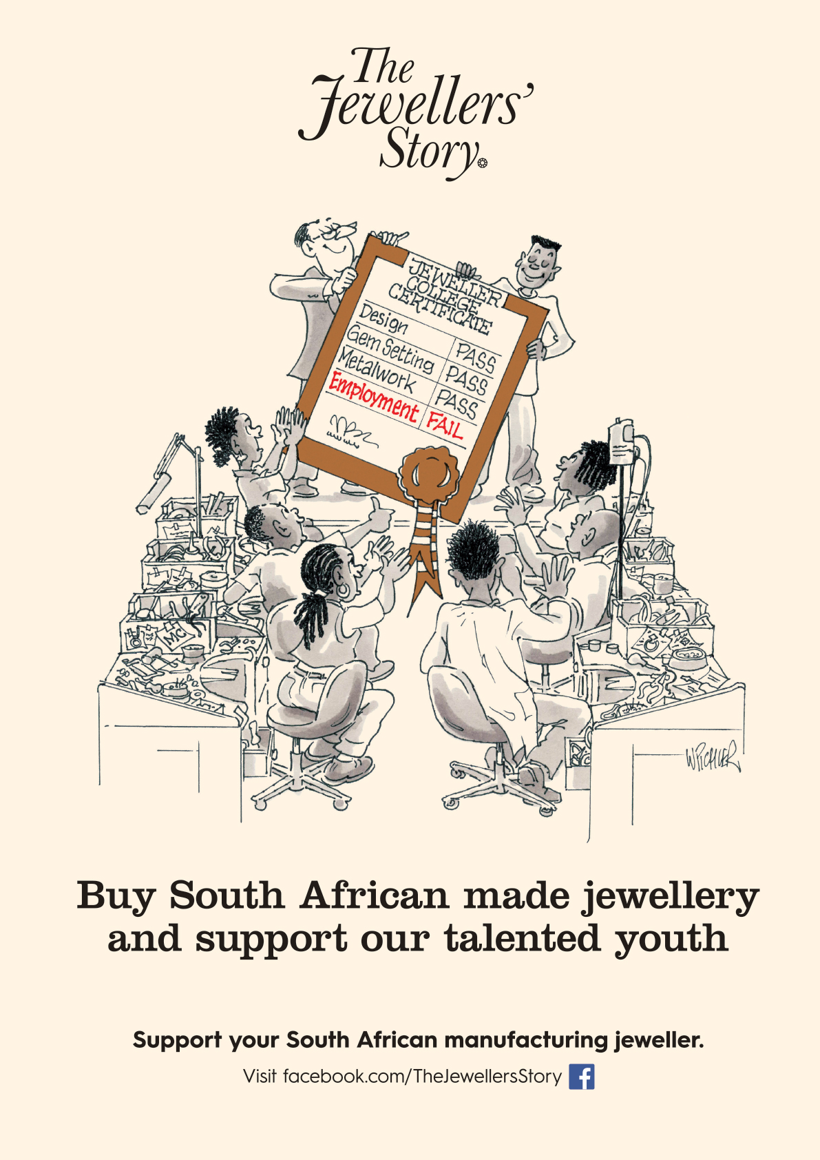 Support local jewellers and our talented youths