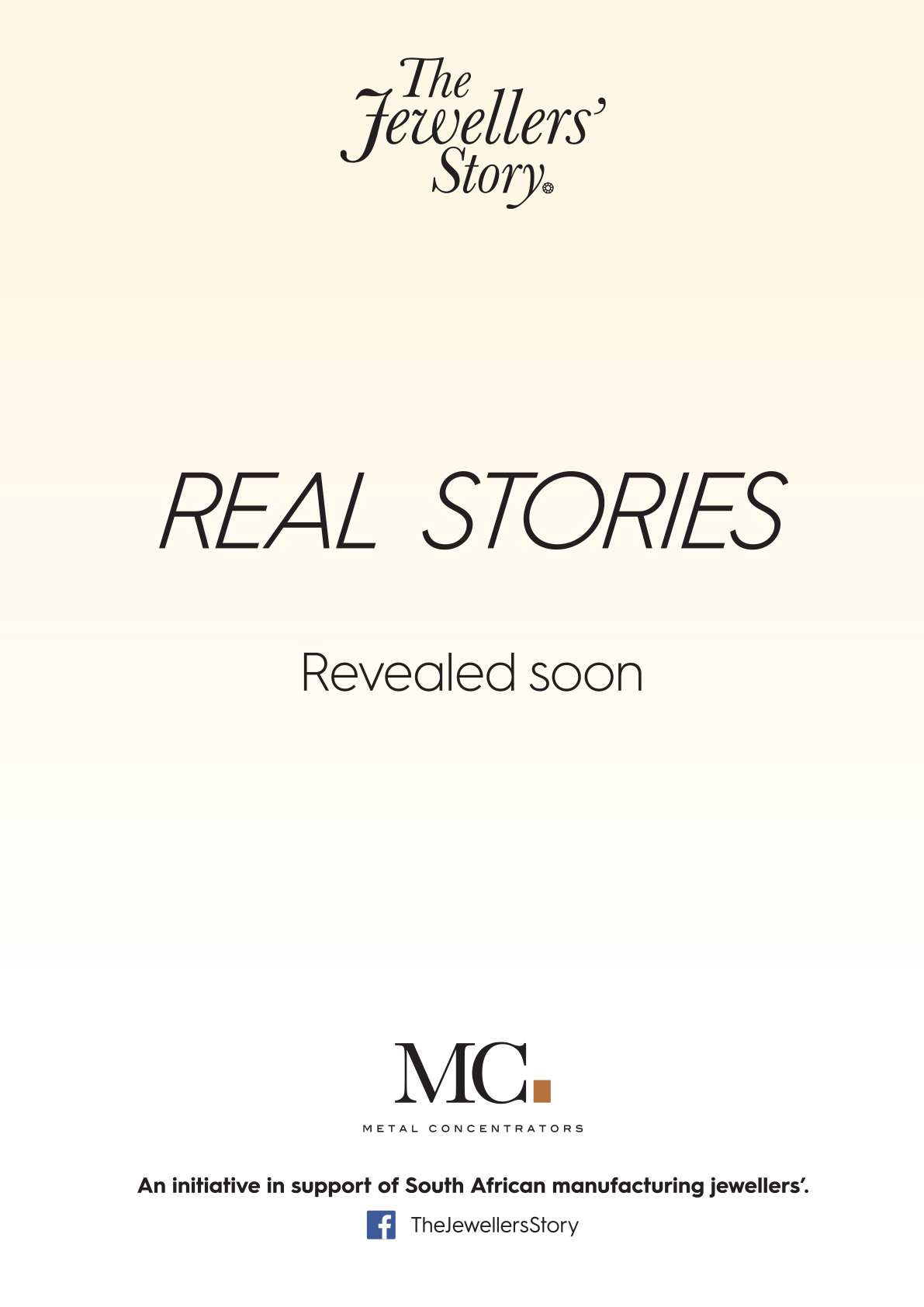 Real Stories coming soon