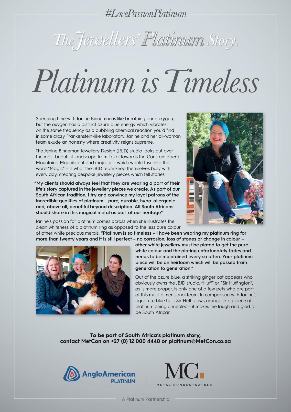 Platinum is Timeless